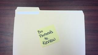 folder bio protocols to review