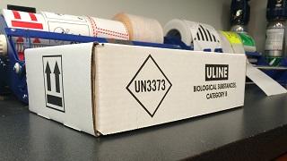 shipping bio materials